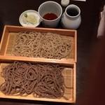 山せみ - 2色蕎麦