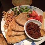 山せみ - 蕎麦クレープ