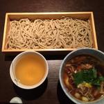 山せみ - 鴨汁蕎麦