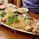 新香飯店 - 白身魚の中華風ブイヤベース