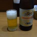 キッチン たか - 瓶ビール中瓶
