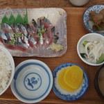 のんのん - (2016/09/21)サンマ刺身定食