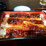 川よし - うな重中@¥2052+ご飯大盛¥216