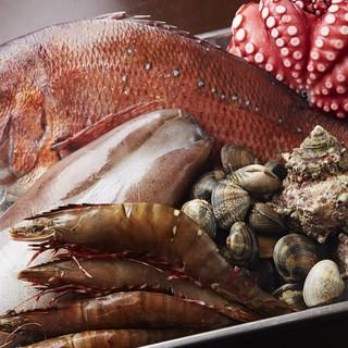 鳴門海峡の強い海流に揉まれた絶品鮮魚