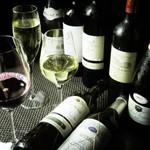 梨乃庵 - ドリンク写真:イタリアワインを中心にした厳選ワイン