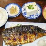58879960 - 鯖の一枚焼き定食