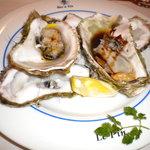ルパンバーラヴァン - オードブル(殻付き牡蠣ボイル)
