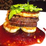 ルパンバーラヴァン - 牛ひれ肉とフォアグラのソテー