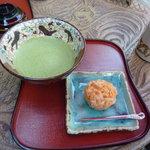 おぐら茶屋 - 抹茶と生菓子