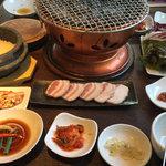 58883822 - 焼肉&サムギョプサル定食