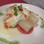 びいどろ - ナバーラ産ホワイトアスパラガスのサラダ 1728円