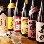 ウラニワ - 東京では味わえない大分の麦焼酎、日本酒を約50種類常備!!