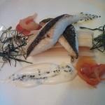 58887788 - お魚料理は鰆でした。