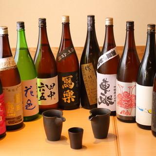 ♪竹ノ塚で常に日本酒約25種類と燻製料理に特化した居酒屋です