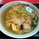 八清 - 料理写真:エビラーメン(あんかけ)