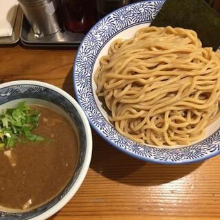 道玄坂 マンモス - 濃厚つけ麺(胚芽麺・大盛)