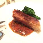 ビストロ・ダルテミス - 豚肉のガレット