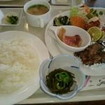 カフェルームサンタモニカ - 料理写真:タイムランチ(650円)