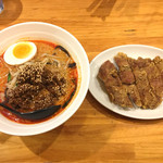 58894247 - 排骨担々麺(2辛)(税込1,050円)