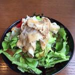 HANAICHI - ランチサラダ。+200円。