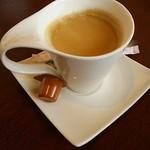 群馬名物 麦豚丼の上州亭 - セットコーヒー(別アングル)