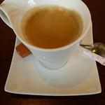 群馬名物 麦豚丼の上州亭 - セットコーヒー