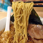 びんびん亭 ユーロード店 - 炙りチャーシューメン850円(麺)