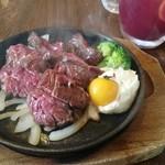 バル akiba - 牛ハラミぷらんちゃ