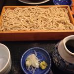 津右衛門 - せいろ蕎麦¥700