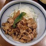 いわさき - いわさき @有楽町 豚しょうが焼 アップ
