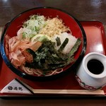 ごまそば 遊鶴 - 料理写真:ちどりそば(590円)