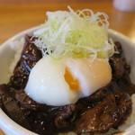 Nagoyamisodoteko - どてめし 並、温泉卵トッピング2