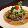 フレンチ カフェ アオイオト - 料理写真:フレンチの一皿を思わせる カレー (◦ >﹏<。)~♡