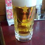 58902421 - 生ビール(345円 水、木半額サービス)