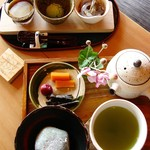いち倫 - 三種味くらべ650円+税・とっと木セット700円+税