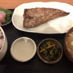 58903544 - カツオのハラス焼き定食 ¥750