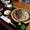 平家そば処 交流庵 - 料理写真:麦とろそばセット