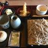 そば庄 - 料理写真:野沢菜おやきセット
