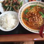 台湾料理 福亭 - 料理写真:ランチのニラレバセット@720円