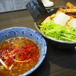 58911711 - ラー油つけ麺(中)900円