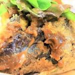 プカ オーガニクス - 野菜は複数種類がいっぱい、パンパンに詰め込まれてる