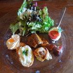 ラッテリア ベベ  カマクラ - ランチB前菜盛り合わせ