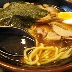 58914646 - チャーシューめん麺&汁 アップ