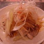 海鮮屋台おくまん - よだれ鶏(380円)