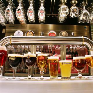 リニューアル★ベルギービール樽生11種が490円均一