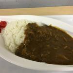 食彩工房 - 料理写真:区役所のカレーライス、500円。