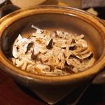 御料理 樋渡 - 炊込みご飯