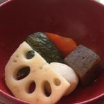 居食家 ヱビス水産 - 炊き合わせ