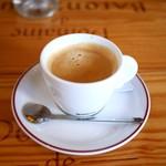 ル・コントワール・オクシタン - ランチセット コーヒー