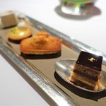 レ セゾン - オペラ  フィナンシェ  パッションフルーツのタルト  ヌガー